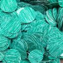 Sequins, Dark teal, 29mm, 25 pieces, 5g, Round shape, Sequins are NOT shiny, [CZP680]